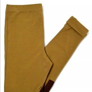 Polo girl stretch 8-10  medium  suede knee Ralph